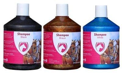 Kleurshampoo Excellent 500ml (zwart/wit/bruin)