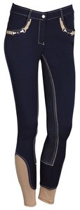 Harry's Horse Rijbroek Vegas Full Grip navy.