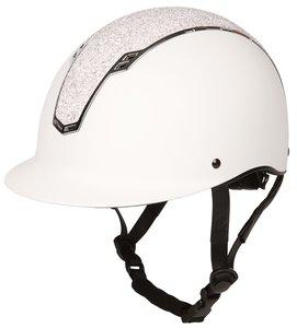 Veiligheidshelm Centaur wit/zilver.