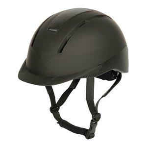 Veiligheidshelm carbonero verstelbaar zwart.