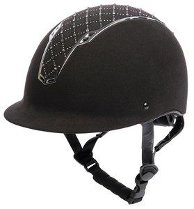 Veiligheidshelm Centaur argyle zwart/zilver.