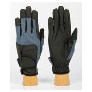 Handschoenen SuperGrip mid blue/black.