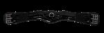 Dressuursingel Rider Pro lak zwart.