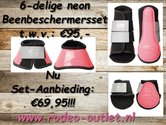 6-delige-Beenbeschermersset-neon-pink